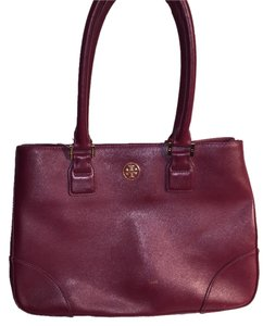 Tory Burch Satchel in oxblood