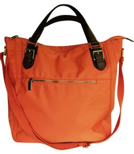 Banana Republic Tote in Bright Orange