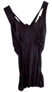 Dress To Kill Strappy Layered Top black