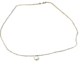 Small Pearl Sterling Silver Necklace