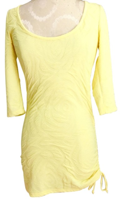 Arden B. short dress Yellow on Tradesy