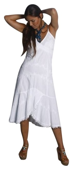 White Maxi Dress by Lirome Resort Summer Embroidery Ibicenco