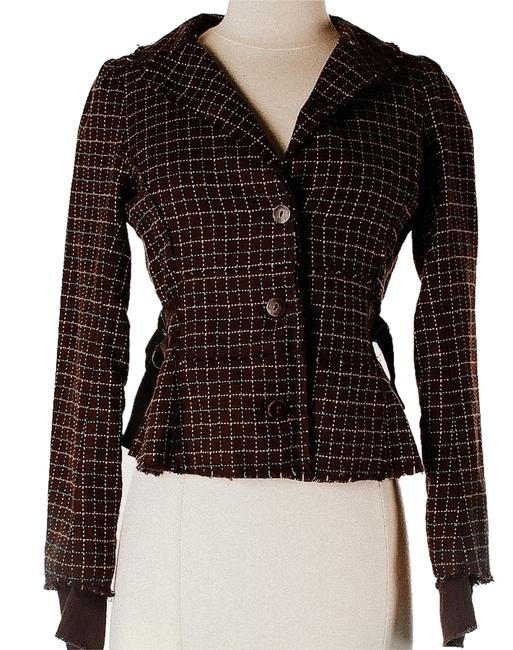 Free People Tweed Brown Jacket