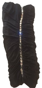 Blumarine Evening Swarovski Crystals Sexy Strapless Dress