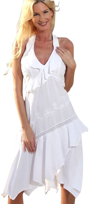 Preload https://item1.tradesy.com/images/lirome-white-sia-organic-cotton-sexy-asymmetrical-mid-length-cocktail-dress-size-6-s-3561550-0-2.jpg?width=400&height=650