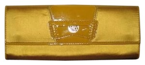 Cole Haan Gold Clutch