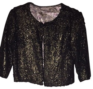 Chelsea & Violet Top Black/gold