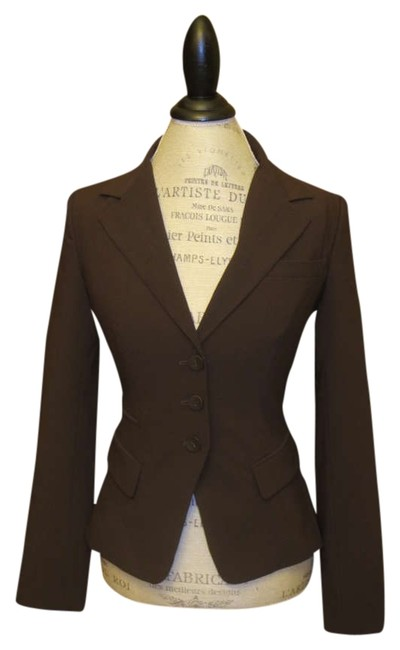 Preload https://img-static.tradesy.com/item/356207/self-esteem-brown-blazer-size-6-s-0-0-650-650.jpg