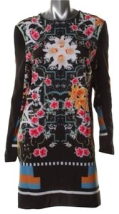 Clover Canyon short dress Black Multicolor on Tradesy