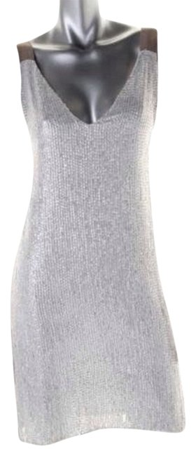 Preload https://item3.tradesy.com/images/renzo-and-kai-white-silver-renzo-and-kai-knee-length-cocktail-dress-size-6-s-3562912-0-0.jpg?width=400&height=650