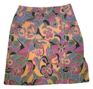 Other Skirt Pink Black