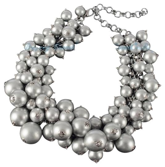 Preload https://item1.tradesy.com/images/grey-fashion-white-chain-resin-beads-cluster-choker-bib-pendant-necklace-3563215-0-0.jpg?width=440&height=440