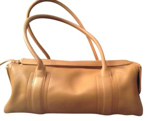 Ann Taylor Leather Satchel in Tan