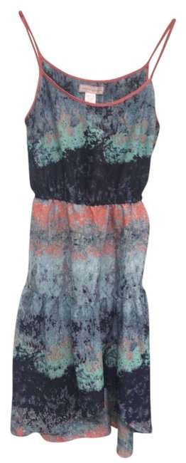 multicolor Maxi Dress by Band of Gypsies Hippie Boho Cool Summer