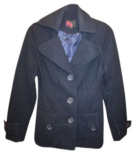Rue 21 Jacket Blazer Blue Pea Coat