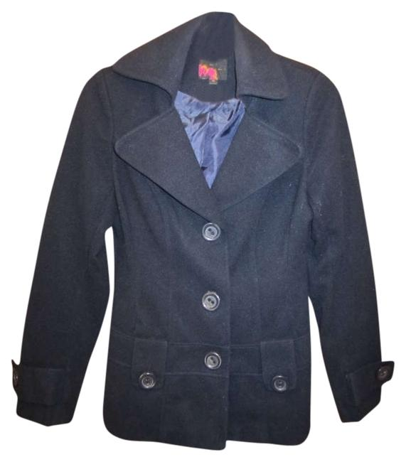Preload https://img-static.tradesy.com/item/356342/rue-21-navy-jacket-blazer-blue-pea-coat-size-8-m-0-0-650-650.jpg