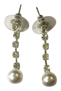 Other Pearl rhinestone dangling earrings