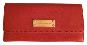 Marc Jacobs Marc Jacobs Double Groove Wallet C313400 in Mandarin orange