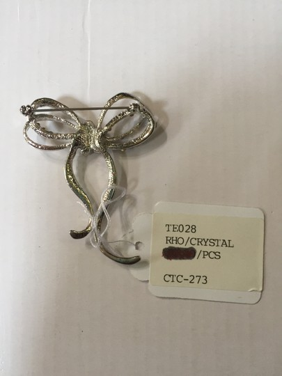 Other Crystal Bow Brooch