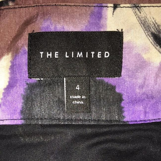 The Limited Skirt Purple, Brown, Black, Off White, Muted Yellow