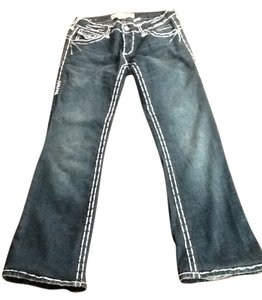 Laguna Beach Jean Company Boot Cut Jeans-Distressed