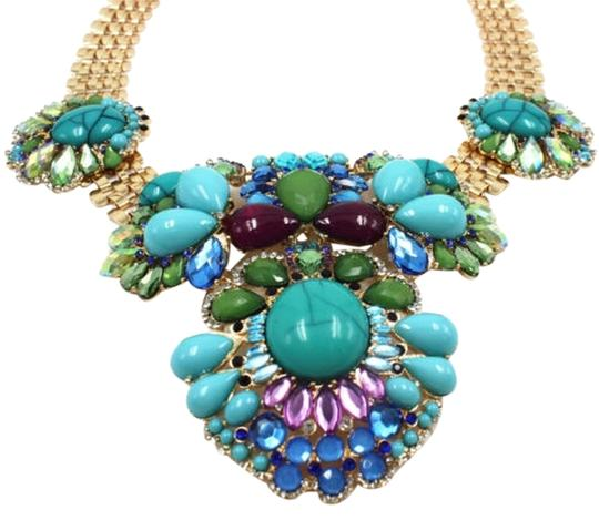 Preload https://item4.tradesy.com/images/golden-blue-fashion-women-statement-chain-mix-beaded-and-crystal-bib-chokers-collar-necklace-3563878-0-0.jpg?width=440&height=440