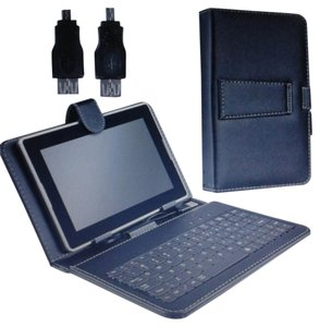 Other Black Leather Tablet Case + Keypad