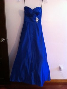 Royal Blue Formal Dress Size 2 (XS)