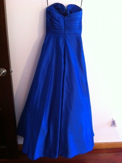 Royal Blue Formal Bridesmaid/Mob Dress Size 2 (XS)