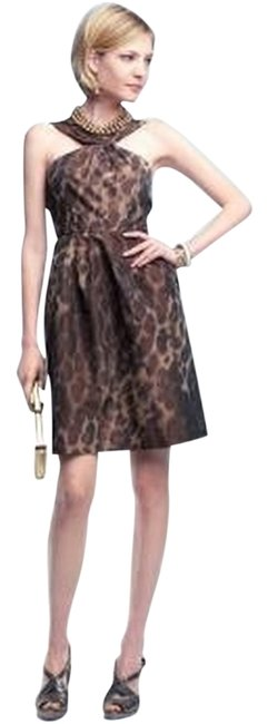 Preload https://item3.tradesy.com/images/banana-republic-animal-print-taffeta-cocktail-dress-size-10-m-3564217-0-0.jpg?width=400&height=650