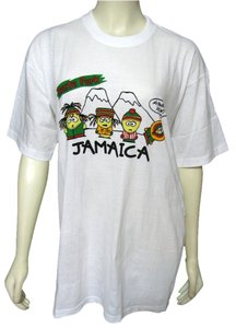 Jamaican T's South Park T Shirt White