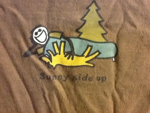 Life is Good Sleeve Rocket Jake Summer Comfortable T Shirt Brown