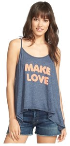 Wildfox Top Heather Blue