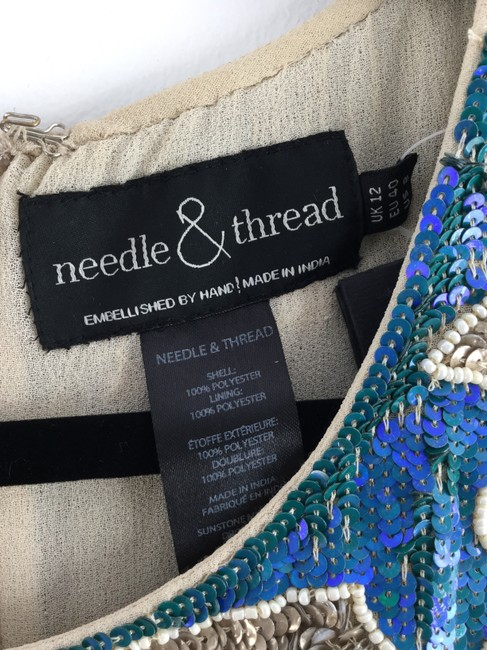 Needle & Thread Need And Shift Sequin Dress