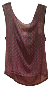 Jella Couture Top Grey And Red