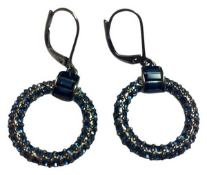 Givenchy Givenchy Blue Circle Earrings