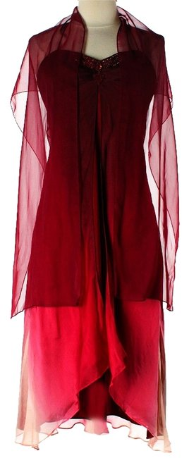 Laundry by Shelli Segal Silk Sheer Dress