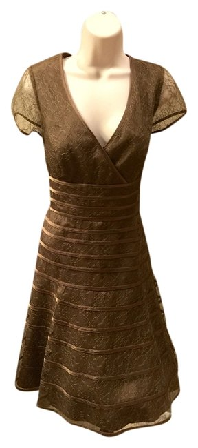 Preload https://item1.tradesy.com/images/js-collections-brownish-green-cocktail-dress-size-10-m-3566560-0-0.jpg?width=400&height=650