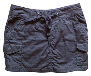 H&M Mini Skirt Dark Brown