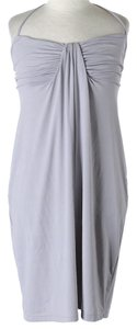 Susana Monaco short dress Grey Halter on Tradesy