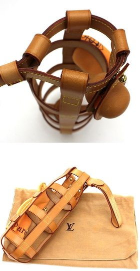 Louis Vuitton Limited Edition Rare Vip Satchel in Brown