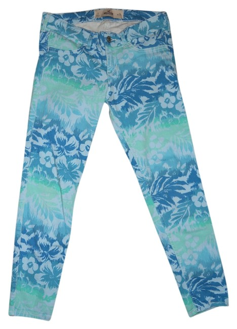 Preload https://item3.tradesy.com/images/hollister-blue-print-tropical-ankle-skinny-jeans-size-26-2-xs-3568147-0-0.jpg?width=400&height=650