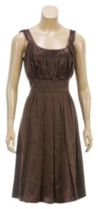 Teenflo short dress Brown on Tradesy