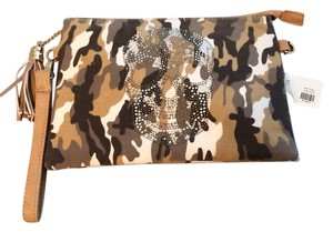 Anthropologie Camouflage Clutch