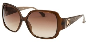 Michael Kors New Michael Kors Women's Zuma Brown Square Sunglasses
