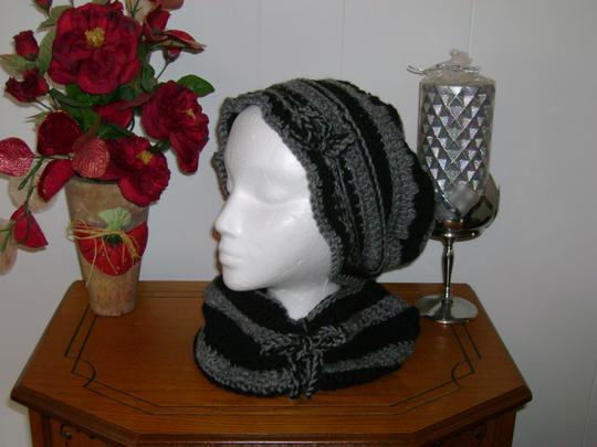 Handmade by me New hat and neck warmer sets
