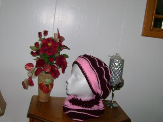 Handmade by me New one of a kind, never used, hat and neck warmer set