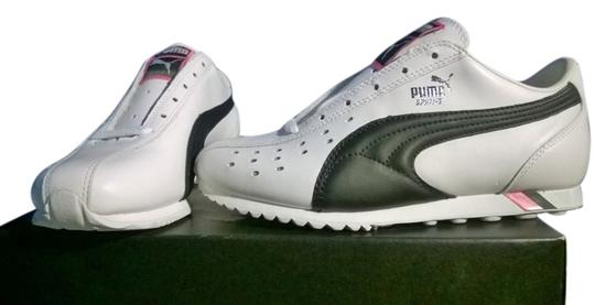 Preload https://item3.tradesy.com/images/puma-low-casual-sneakers-leather-whiteblack-athletic-3569362-0-0.jpg?width=440&height=440