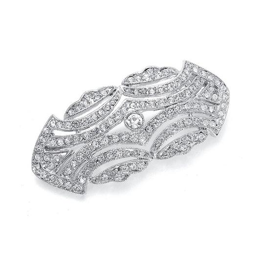 Preload https://item3.tradesy.com/images/mariell-silver-1920-s-faux-marcasite-cz-p073-broochpin-3569782-0-0.jpg?width=440&height=440