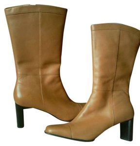 Naturalizer Genuine Leather Caramel Boots